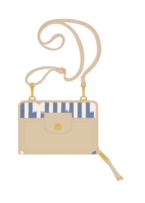 Spartina Multi Phone Crossbody - Oyster Alley