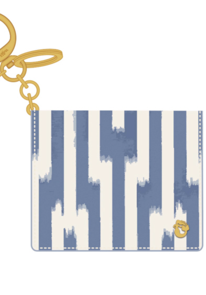 Spartina Card Keychain- Oyster Alley