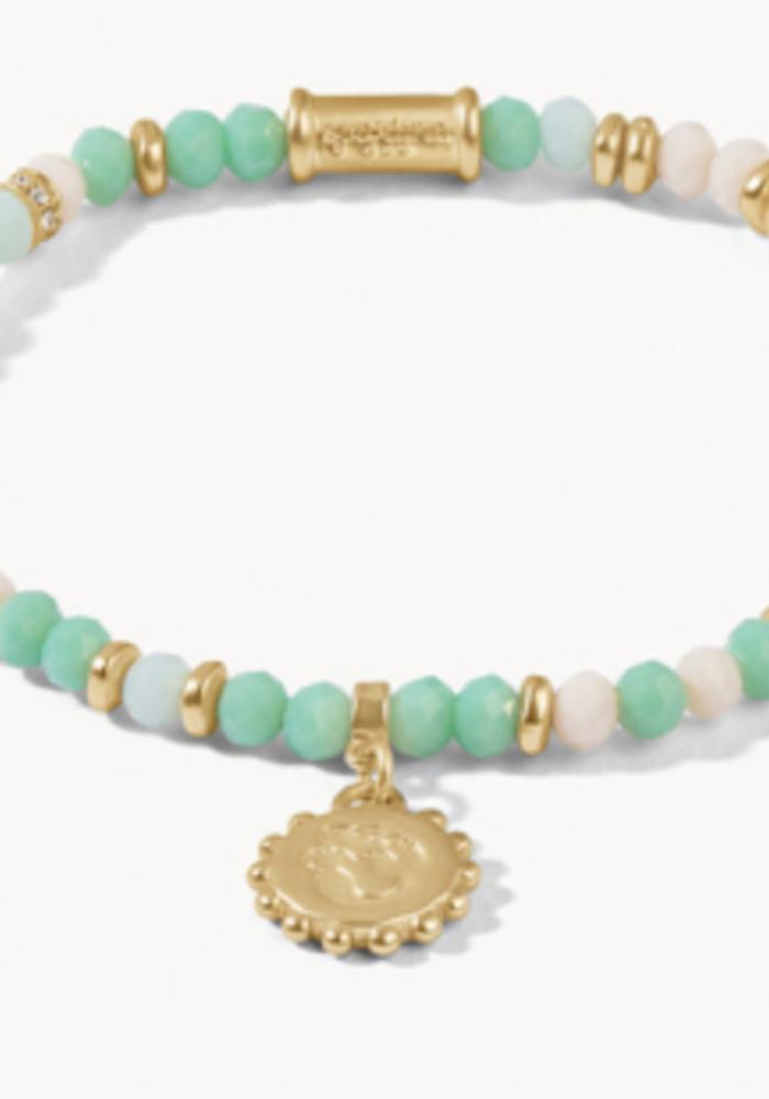 Spartina Stretch 4mm Bracelet Turquoise Mermaid