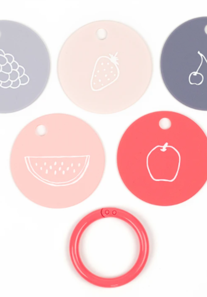 BT Fruit for Thought Teether Flashcards