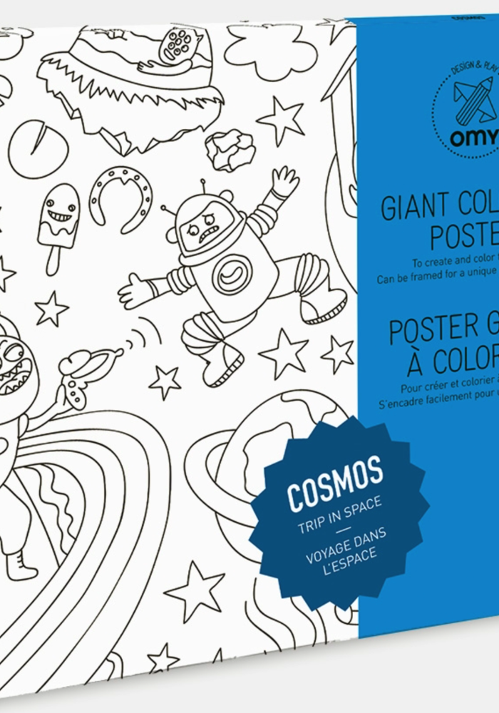 OMY Coloring Poster- Cosmos