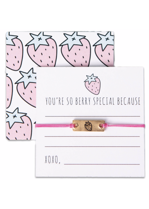 """Notes Collection -  """"You're so berry special because"""""""
