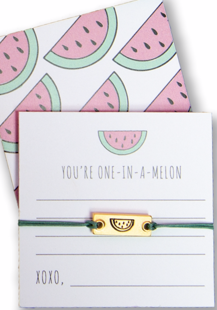 """Notes Collection - """"You're one-in-a-melon"""""""