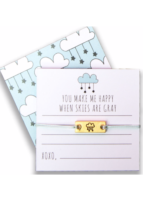 """Notes Collection - """"You make me happy when skies are gray."""""""
