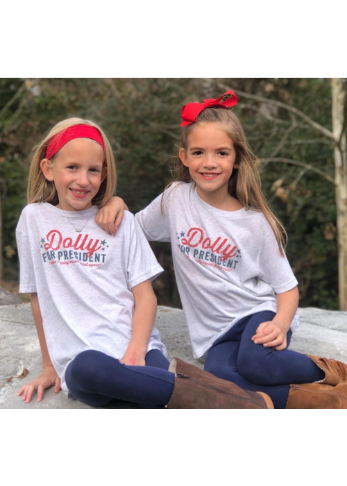 Dolly For President Tee - Youth