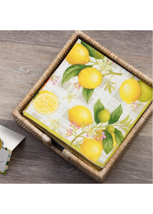 Citron Cocktail Napkin