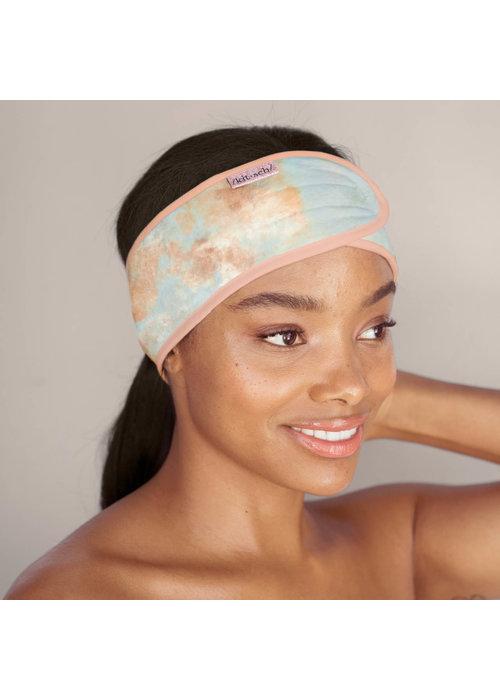 Kit Sch Kitsch Spa Headband Tangerine Tie Dye