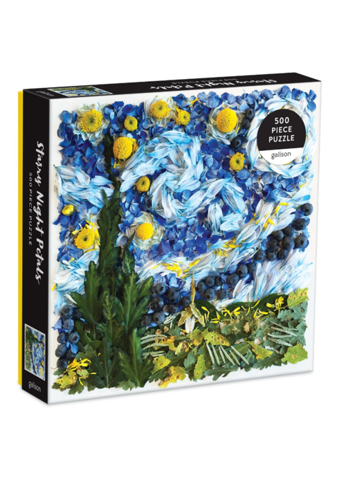 Starry Night Petals 500p Puzzle