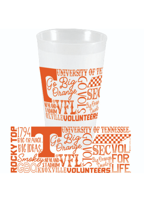 Party Cups Pack of 10 - Tennessee