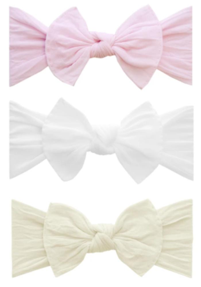 Baby Bling 3PK Knot Set Bow Headband