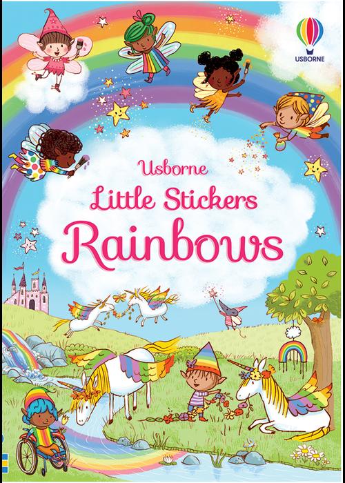 Usborne Little Stickers Rainbows