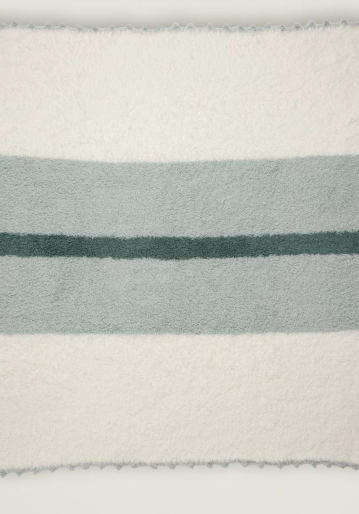 BFD Cozychic Striped Receiving Blanket in Ocean