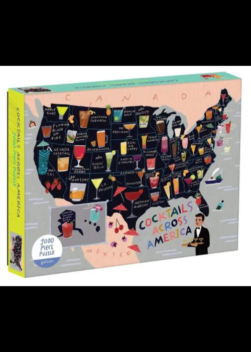 Cocktails Across America 1000 Pc Puzzle