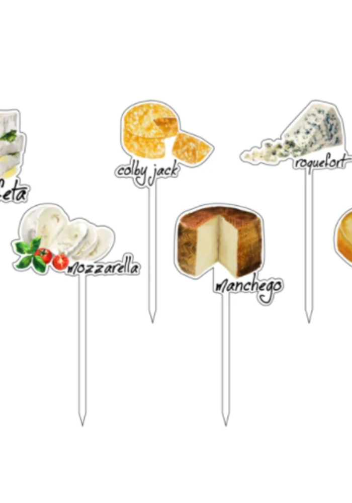 Cheese Lovers Fromage Acrylic Sticks