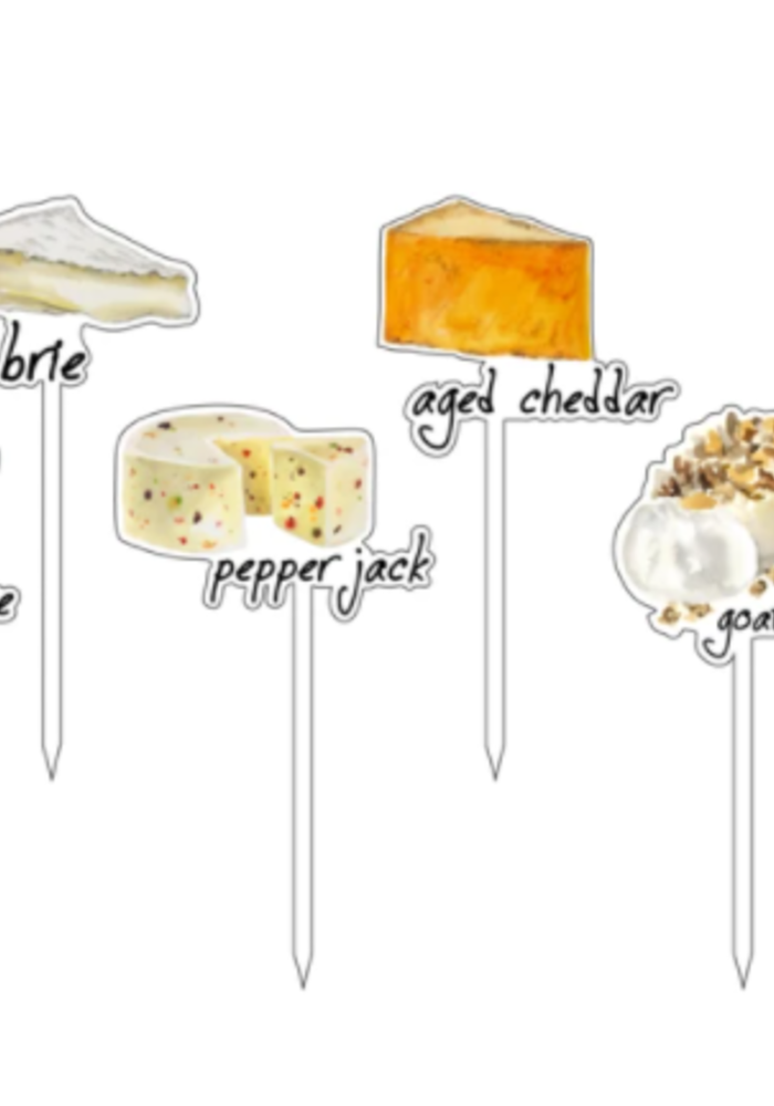Say Cheese Fromage Acrylic Sticks