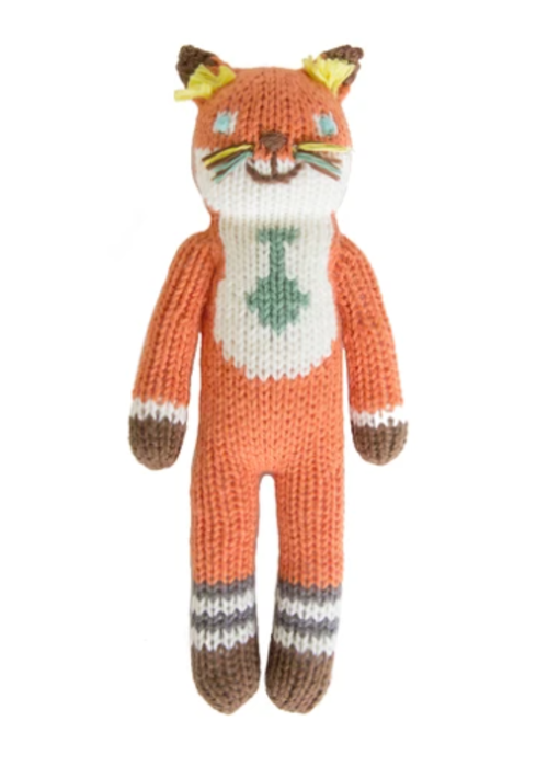 Bla Bla Kids Bla Bla Kids Socks the Fox Rattle