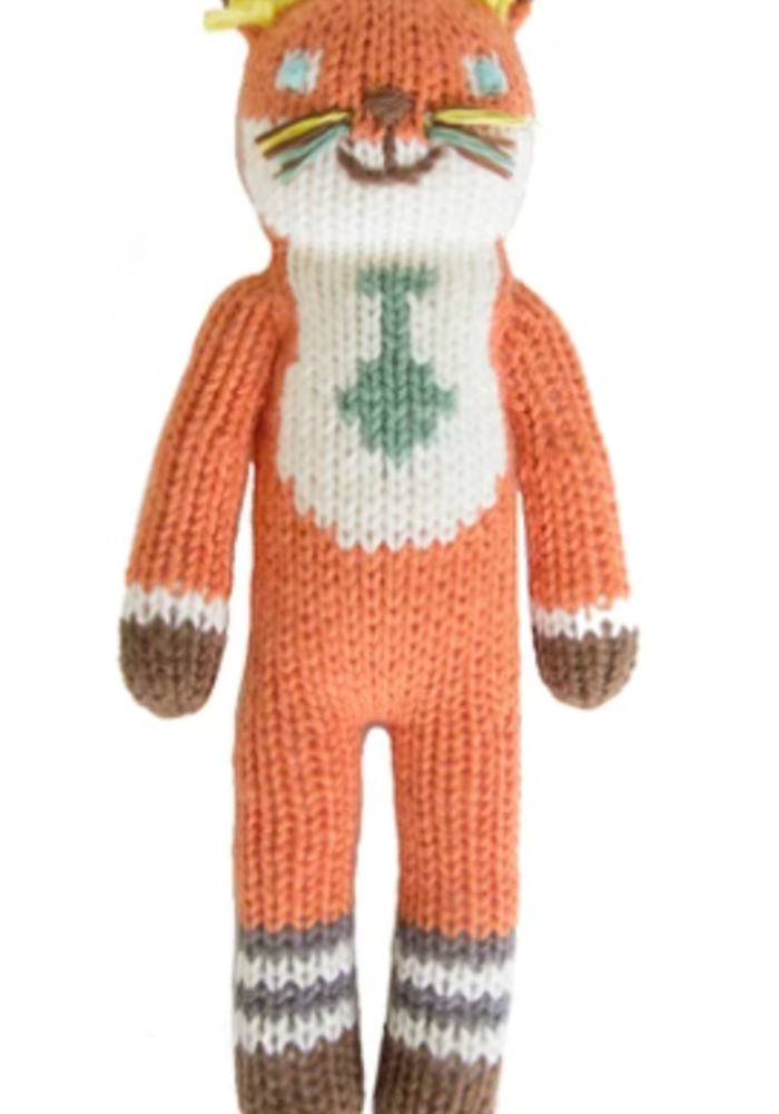Bla Bla Kids Socks the Fox Rattle