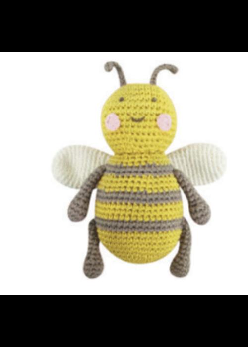Albetta Albetta Crochet Baby Bee Rattle Toy