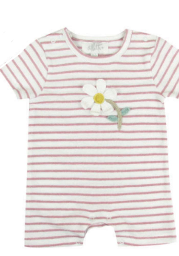 Albetta Crochet Summer Daisy Babyvest