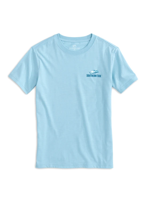 Southern Tide Southern Tide Dream Blue SS Toss Like a Boss Tee