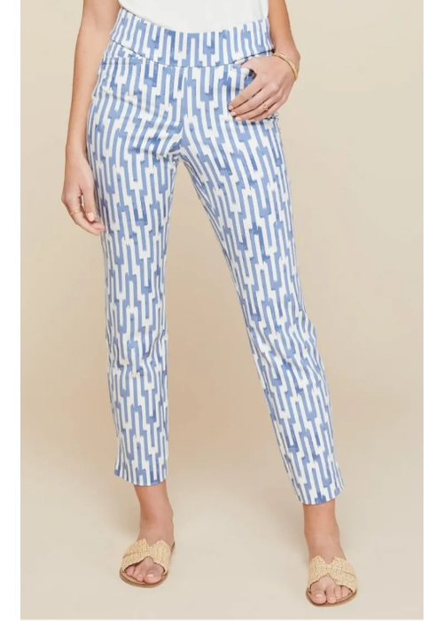 Spartina Maren Pull-On Pant Oyster Alley