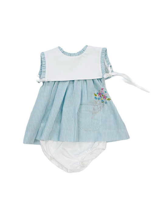 Sophie & Lucas SL Easton Stripes Dress Blue