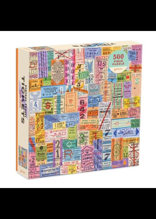 Vintage Travel 500p Puzzle