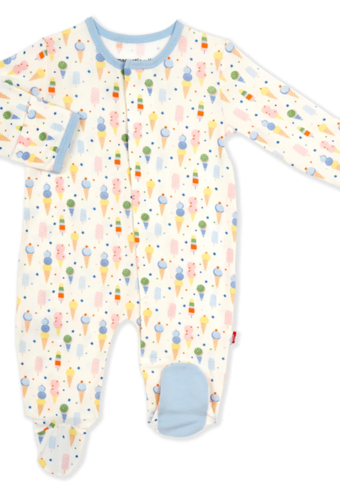 Magnetic Me Ice Ice Cream Baby Modal Magnetic Footie