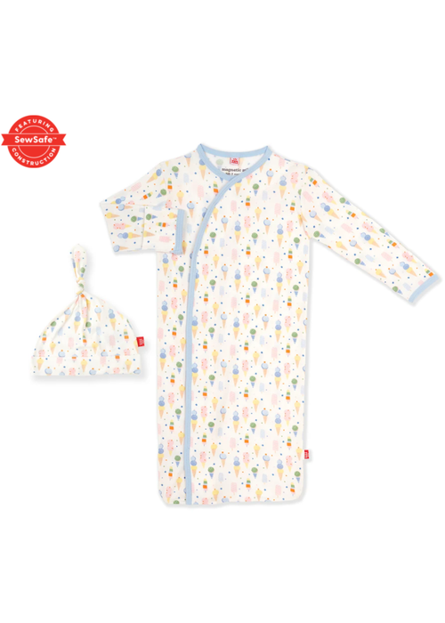 Magnetic Baby Magnetic Me Ice Ice Cream Baby Modal Magnetic Gown Set