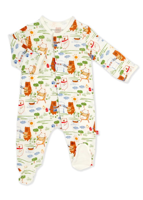 Magnetic Baby Magnetic Me Bear-B-Que Modal Magnetic Footie
