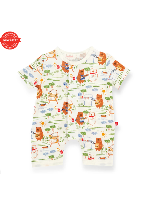 Magnetic Baby Magnetic Me Bear-B-Que Modal Magnetic Romper