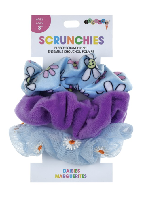 Iscream Daisies Scrunchie Set