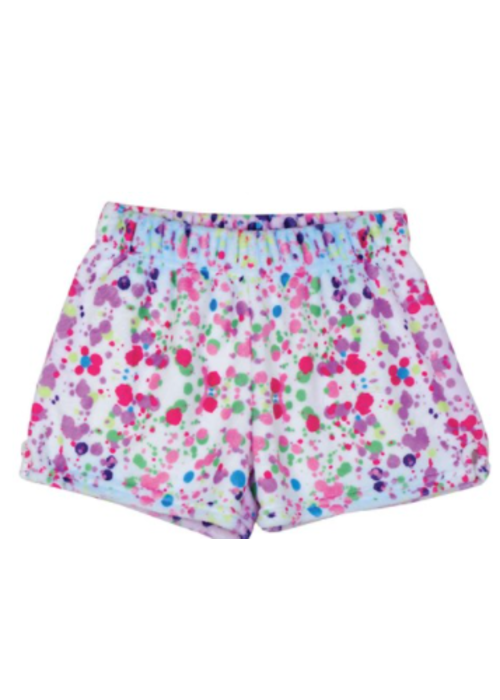 Iscream Confetti Plush Shorts