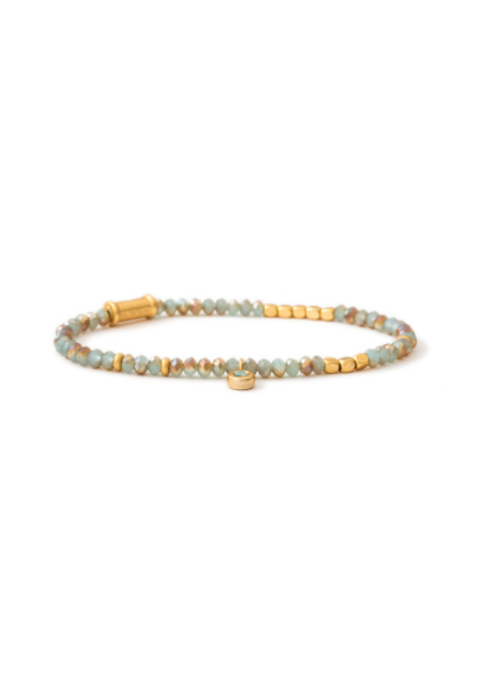 Spartina Stretch Bracelet 3mm Sea Foam