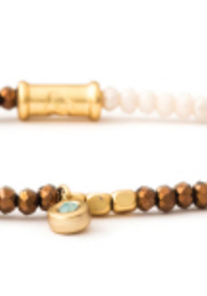Spartina Stretch Bracelet  3mm Summer Multi
