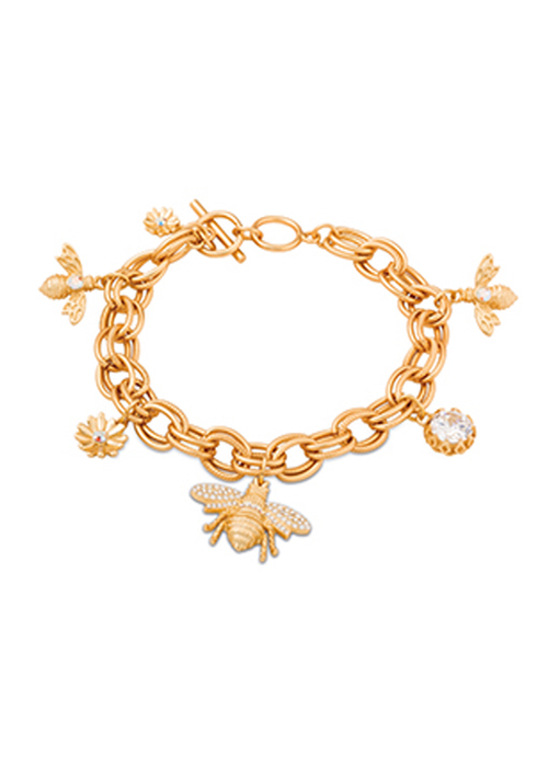 Spartina Bee Toggle Bracelet