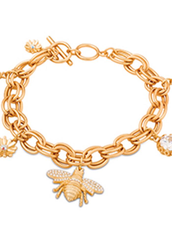 Spartina Bee Toggle Bracelet