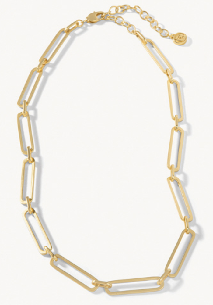 """Spartina Long Link Necklace 17""""Gold"""