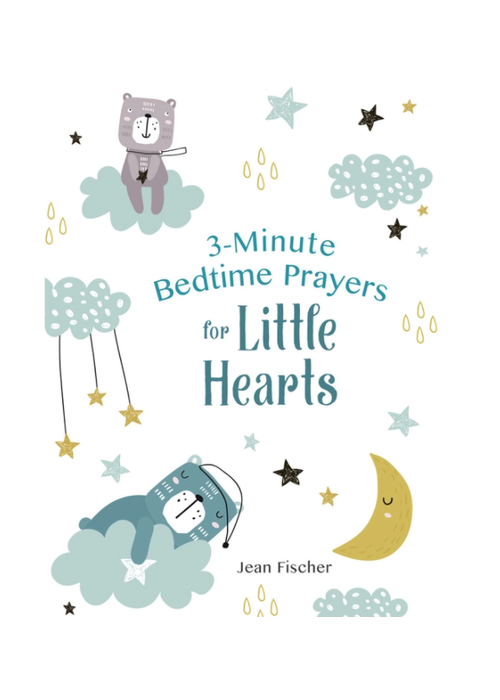 Barbour 3 Minute Bedtime Prayers for Little Hearts