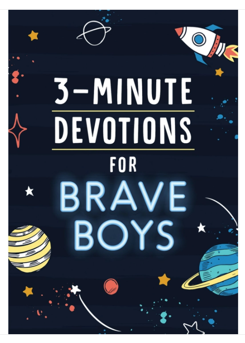 Barbour 3 Minute Devotions for Brave Boys