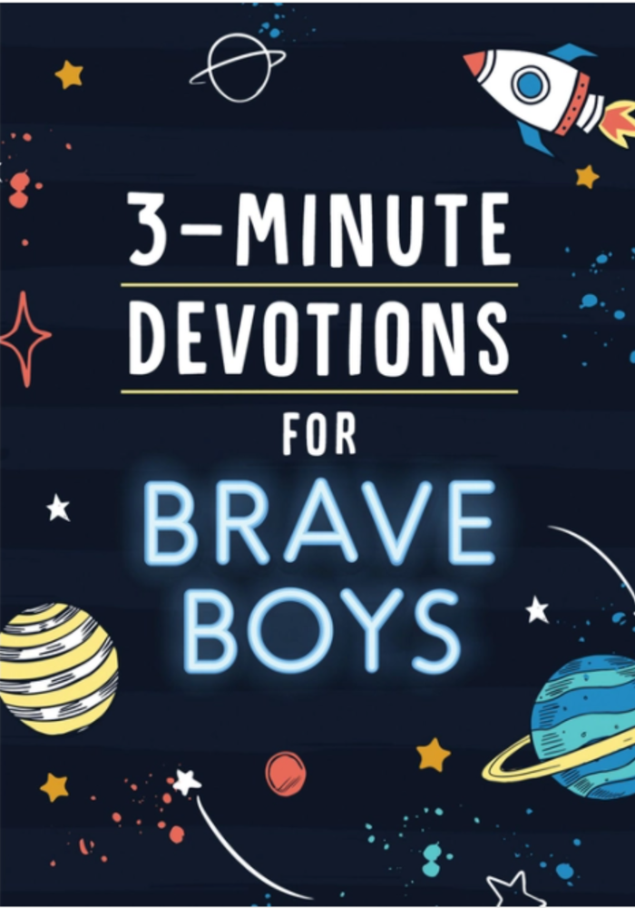 3 Minute Devotions for Brave Boys