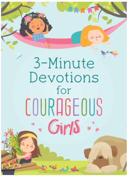 Barbour 3 Minute Devotions for Courageous Girls