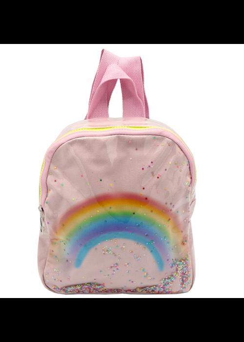 Rainbow Backpack - Pink