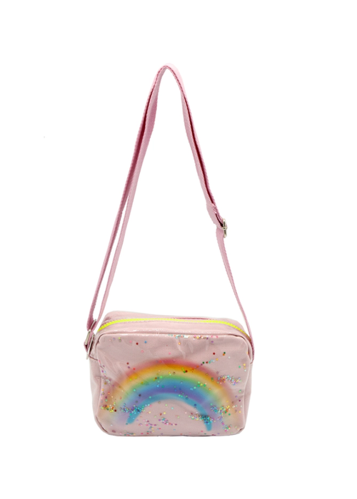 Sparkle Sisters Rainbow Purse - Pink