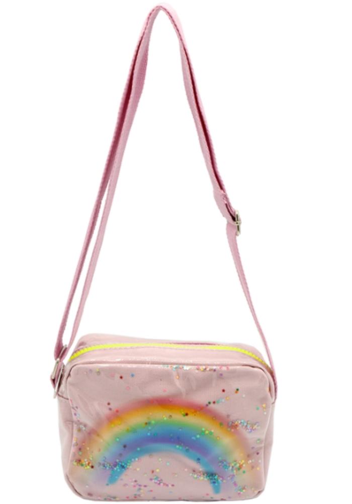 Rainbow Purse - Pink