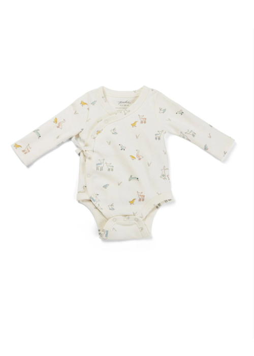 Pehr Pehr Just Hatched Kimono One Piece 0-3m