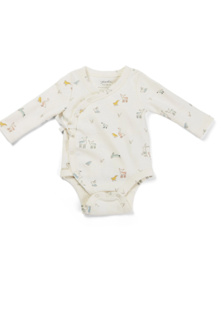 Pehr Just Hatched Kimono One Piece 0-3m