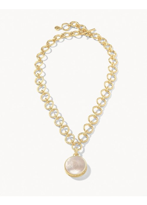 "Spartina Naia Chunky Necklace 20"" Pearlescent"