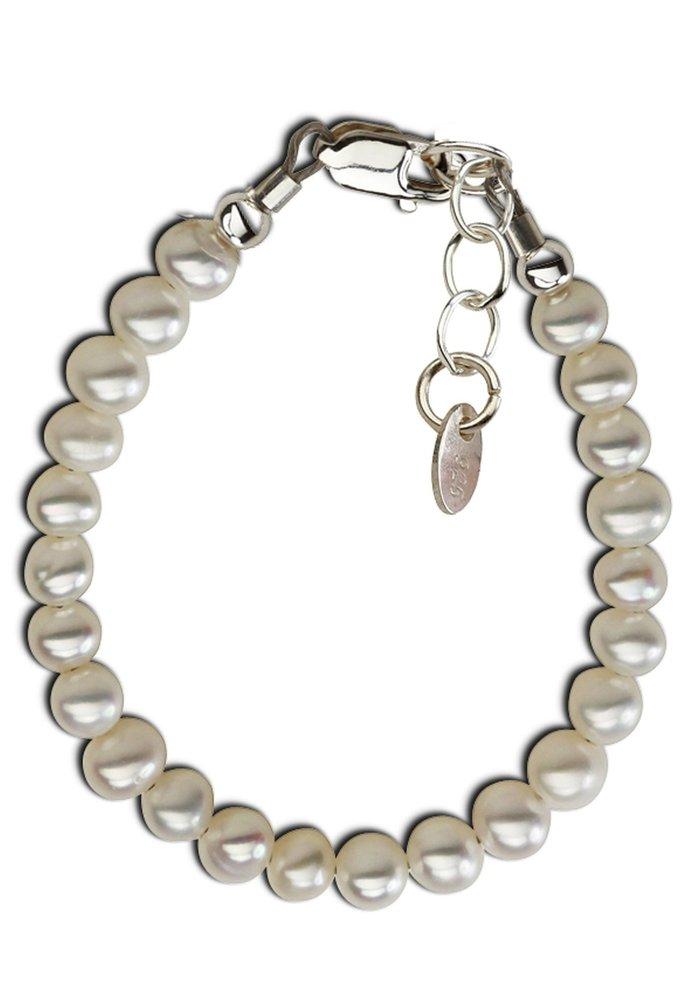 Cherished Moments Zoey Sterling Silver Pearl Bracelet SM