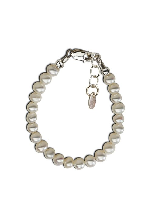 Cherished Moments Cherished Moments Zoey Sterling Silver Pearl Bracelet MED